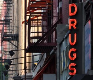 Grand Bay AL corner drugstore